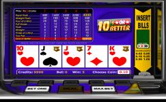 10's or better poker