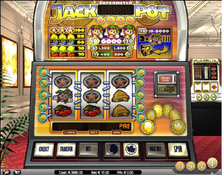 jackpot 6000 machines à sous