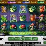super lucky frog machines à sous