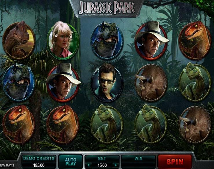 Lll jurassic park jouer gratuit machine sous en ligne - Jurassic park gratuit ...