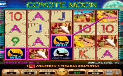 coyote moon machine a sous gratuite sans inscription