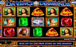 da vinci diamonds machine a sous gratuit sans inscription