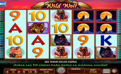 wild wolf machine a sous gratuite sans inscription