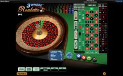 3 wheel roulette gratuite en ligne
