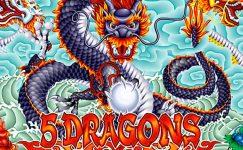 5 dragons machine a sous gratuit en ligne sans téléchargement