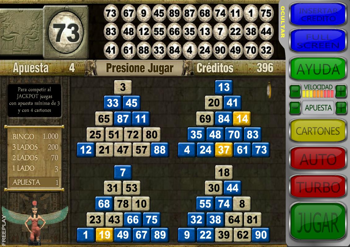 Pharao's Bingo