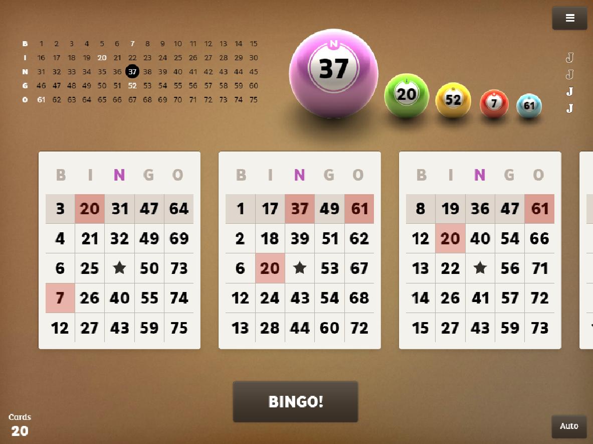 Bingo Free Game