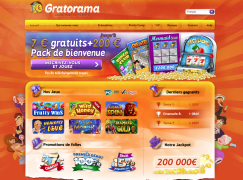 gratorama casino en ligne