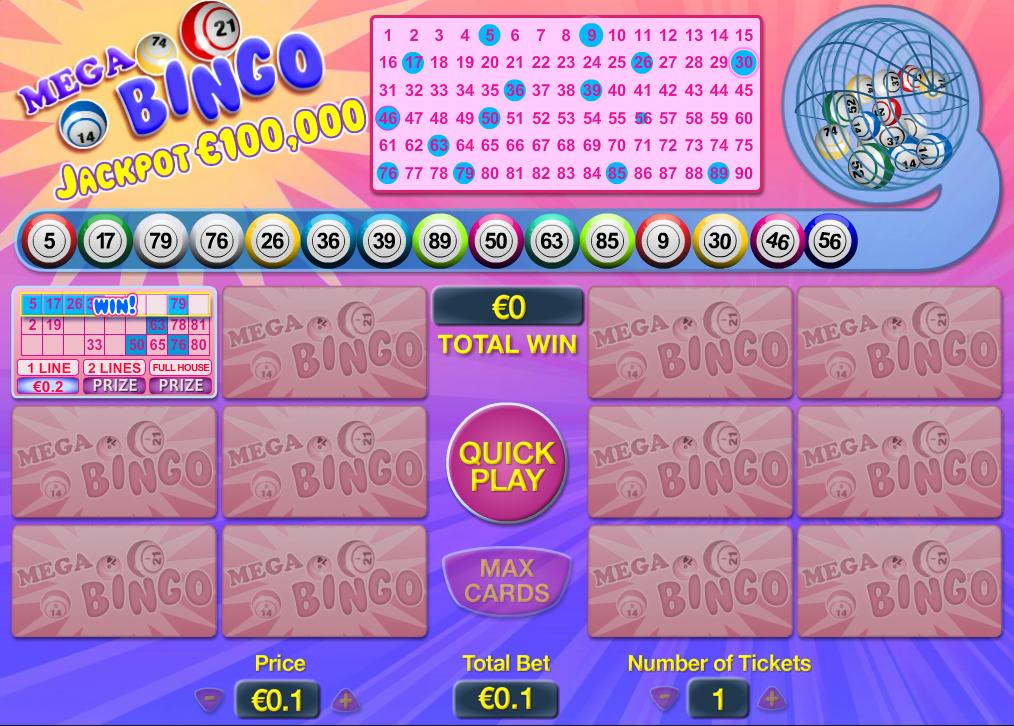 Mega Bingo