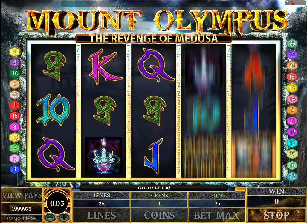 Mount Olympus – The Revenge of Medusa