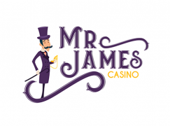 mr james casino logo