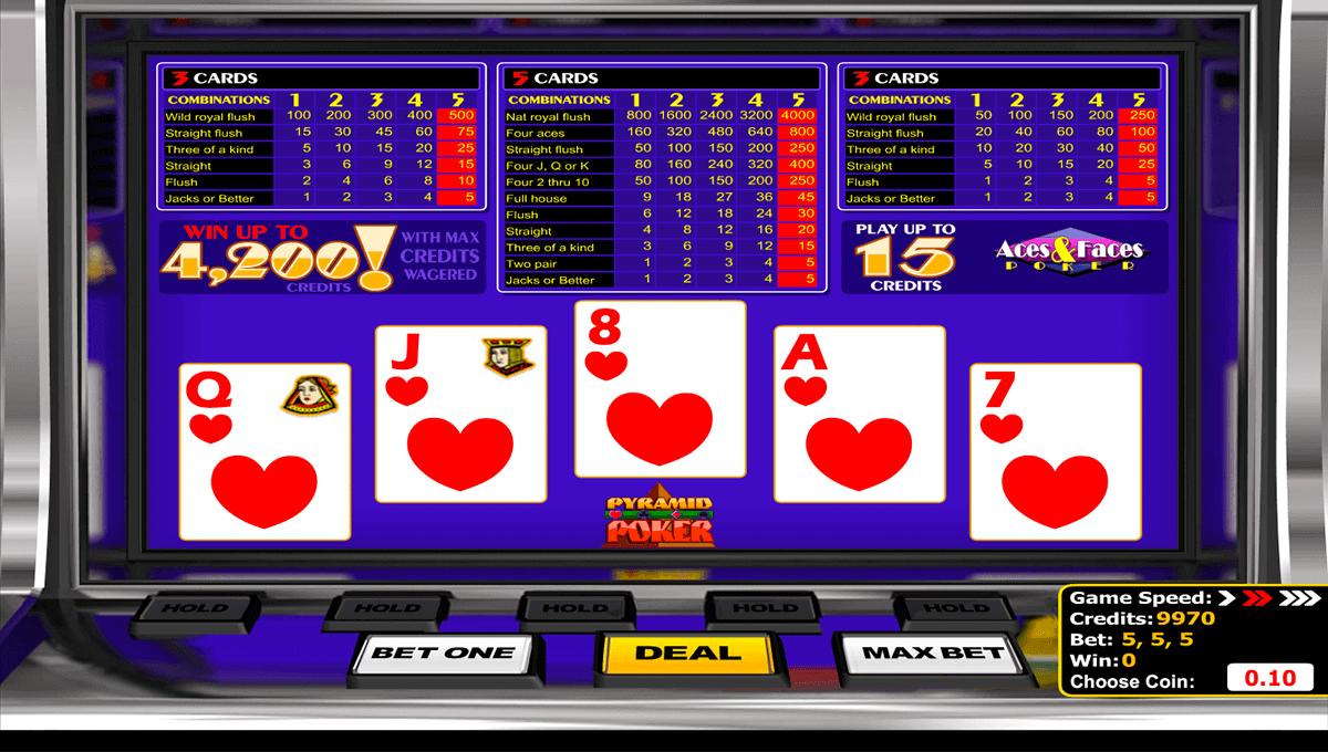 Aces & Faces Poker