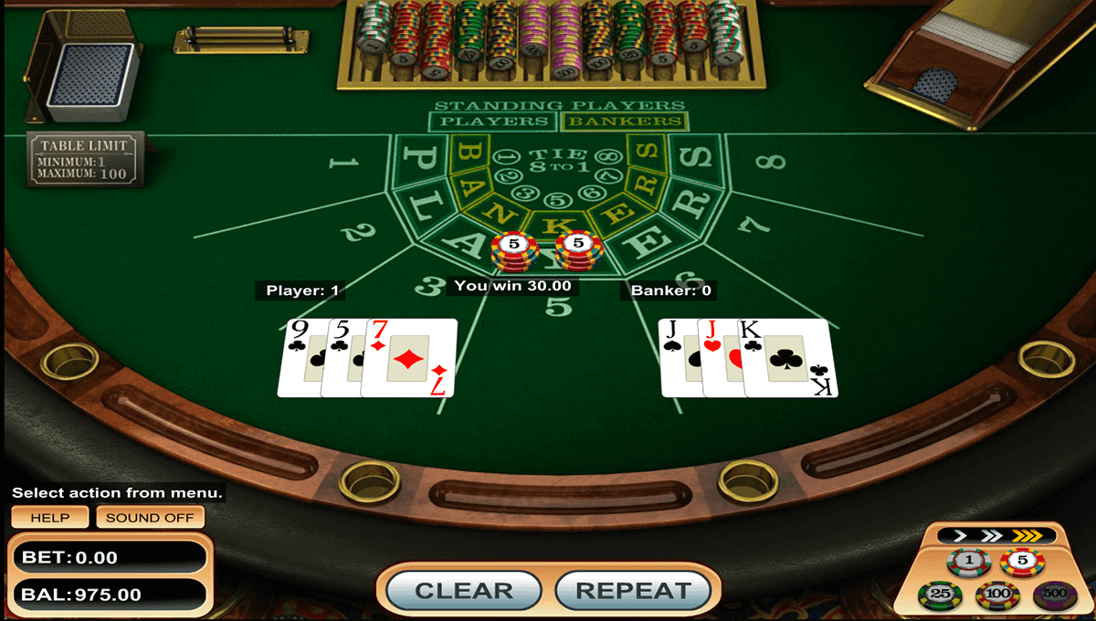 Baccarat – Betsoft Gaming