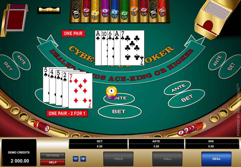 Cyberstud Poker