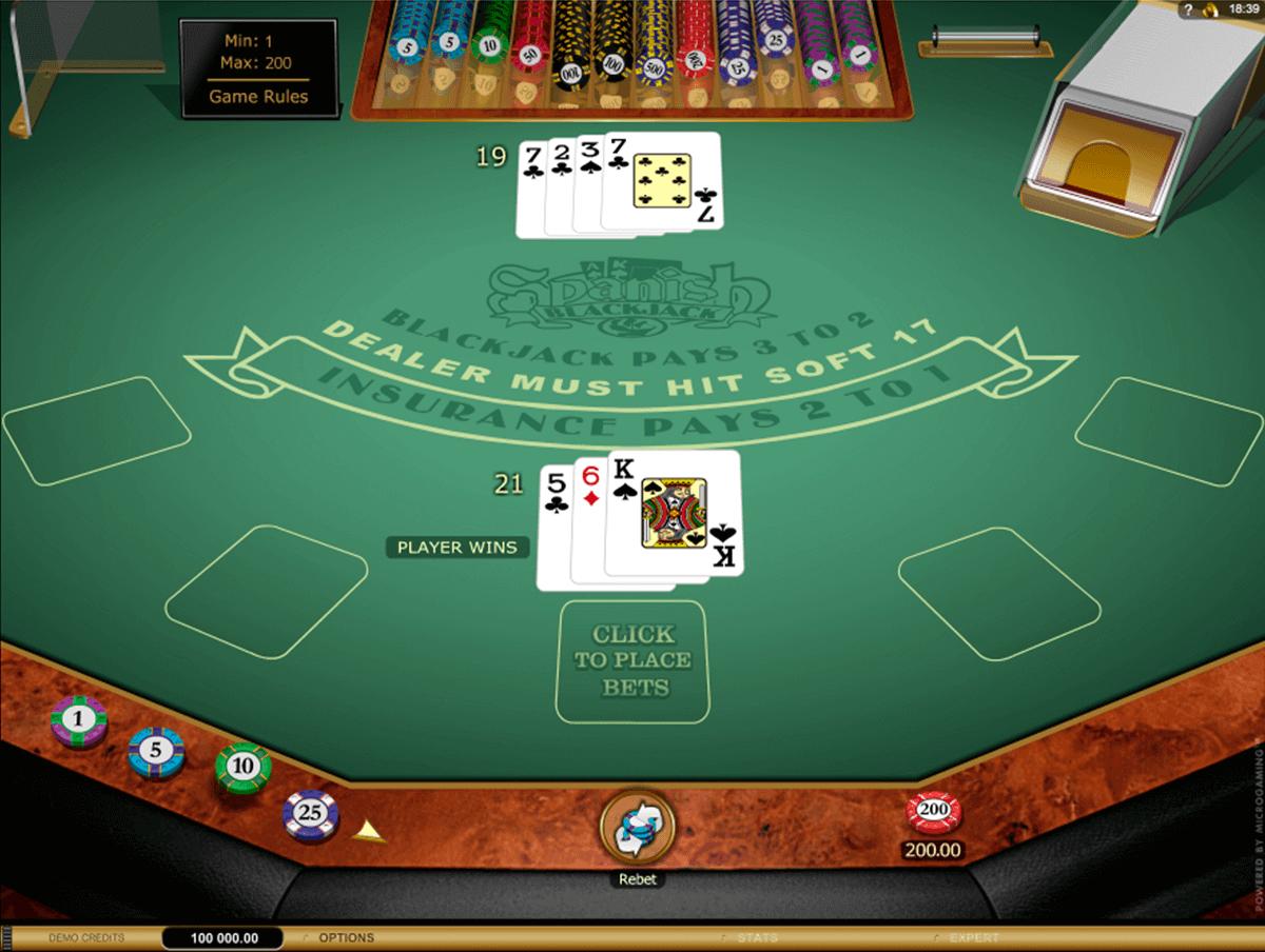 Spanish Blackjack Gold Series