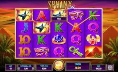 machine a sous gratuit en ligne sphinx wild